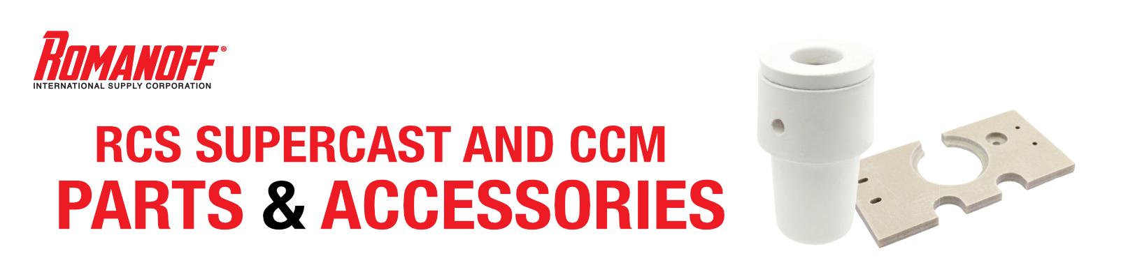 RCS & CCM Crucibles & Parts