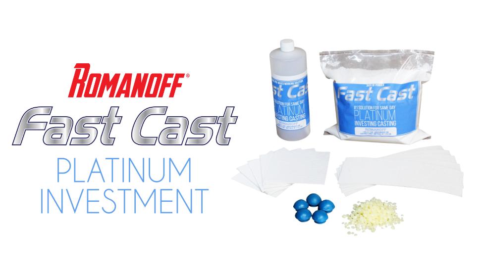 Romanoff Fast Cast Investment Kit